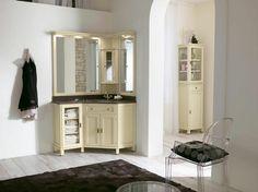 Traditionell Holz Wandschrank Für Badezimmer