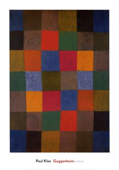 New Harmony by Paul Klee #Painting #Magic_Squares #Paul_Klee