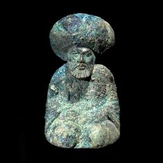 """cafeinevitable: """" Bronze Chess Piece of the Caliph Harun al-Rashid - Circa 780 AD to 850 AD Dimensions high Medium Bronze Origin Central Asia Gallery Location UAE This attractive. History Of Chess, Spread Of Islam, Abbasid Caliphate, Bronze, Best Iphone Wallpapers, Chess Pieces, Inevitable, World Cultures, Gingham"""