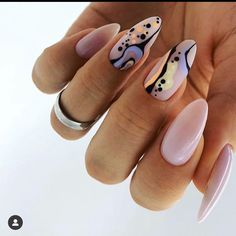 43 Beautiful Nail Art Designs for Coffin Nails Dream Nails, Love Nails, Pretty Nails, Fun Nails, Glitter Nails, Jolie Nail Art, City Nails, Nagel Blog, Manicure E Pedicure