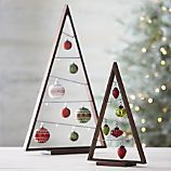 A Frame Ornament Trees from Crate & Barrel