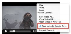 Save files to Google Drive with Chrome add-on Save to Drive at Cnet.