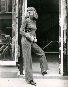 Sonia Rykiel (born in 1930), French fashion designer, on August 26, 1968.