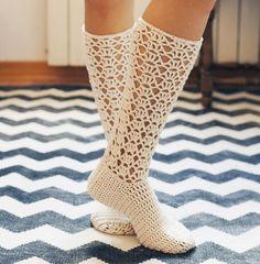 Ladies Lace Socks PATTERN FOR SALE