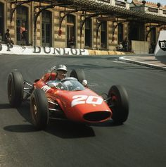 Willy Mairesse, Ferrari 156, GP Monaco (1963)