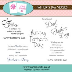 Today We Are Here To Provide You The Best Father S Day Verses Wish Your Dad