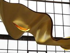 The Golden Ribbon by Ingo Maurer