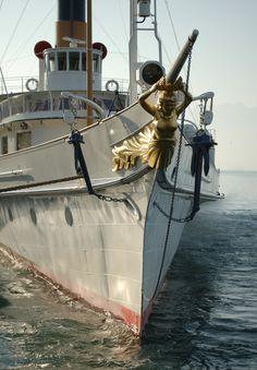 S/S La Suisse - ABVL | Association des amis des bateaux à vapeur du Léman