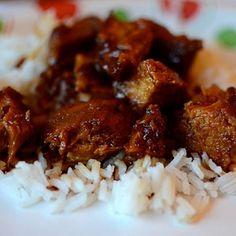Main Dish: Slow Cooker Honey-Sauced Chicken