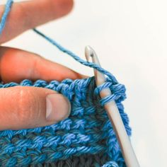 Tunisian Bind Off and Other Finishing Tips by Petals To Picots