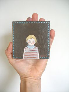 By Amanda Blake.  Thinking about having one commissioned.