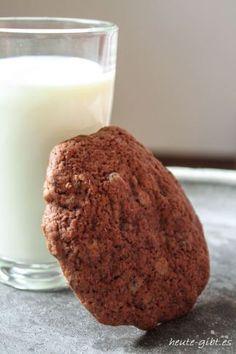 leckere Schoko-Bananen-Cookies