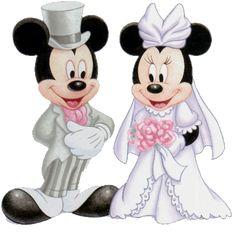 Mickey & Minnie Wedding