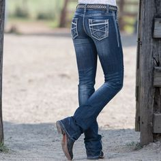 Ladies Pixie Dust Rock  Roll Cowgirl Jeans- CUTE!