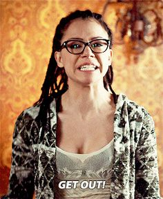 I feel like Cosima was a little naive to get involved with Delphine Orphan Black, Orange Is The New Black, Back To Black, Sarah Manning, Black Tv Shows, The Knick, Tatiana Maslany, High Castle, Freaks And Geeks
