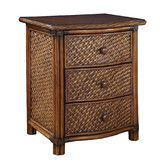 Found it at Wayfair - Marco Island 3 Drawer Nightstand