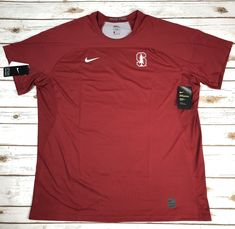 d13d873c Details about Nike Pro Stanford Cardinal Shirt Size 4XL Mens NWT $60