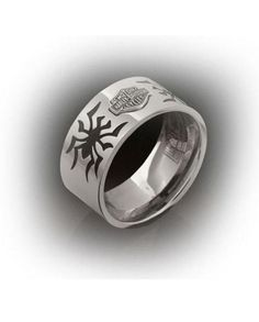 $49.95 Great Mother's Day GiftHarley-Davidson® Women's Stamper® Stainless Steel Spider Ring. Women's Size 8. 9.5mm Wide. STR6063-8 http://www.bikeraa.com/