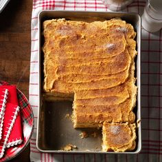Spiced Pumpkin Tiramisu Recipe -I transformed tiramisu from coffee to pumpkin-flavored for a special holiday with my brother and parents. A new Christmas tradition was born! —Heather Clary, Downingtown, Pennsylvania
