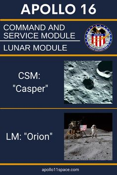 Apollo 16 mission would be the next to last trip in the Apollo program, carrying astronauts John Young, Charles Duke, and Ken Mattingly to the Moon. #Apollo16 Apollo 16, Apollo Program, Nasa, Moon, The Moon, Apollo
