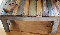 $10 DIY pallet bench