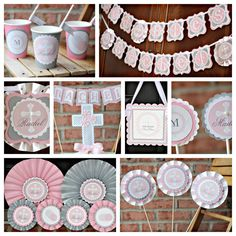 First Communion Party Decorations Baptism DecorationsGirl