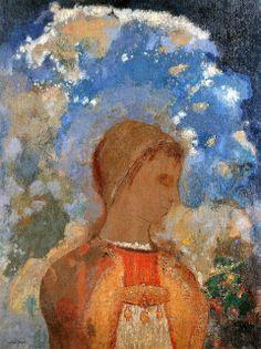 Odilon Redon - Bouddha dans sa jeunesse