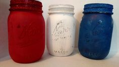 Patriotic Jars Set