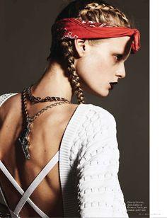 Fashion Editorials: Black Magazine 2012