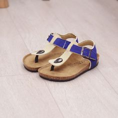 >> Click to Buy << 2016 New summer children's shoes boys sandals Cork sole kids footwear PU leather shoes cow cattle leather beach sandals #Affiliate