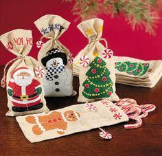 bolsitas navideñas para dulces - Buscar con Google