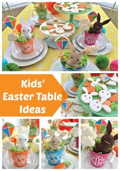 Kids Easter Table Ideas | Pretty My Party