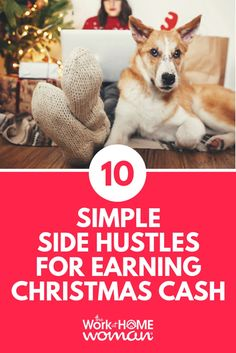 Earning enough money to cover holiday expenses can be a daunting task. But we have 10 awesome side hustles perfect for earning Christmas cash! Cash From Home, Earn Money From Home, Make More Money, Make Money Online, Legit Work From Home, Legitimate Work From Home, Work From Home Jobs, Christmas On A Budget, Christmas Eve