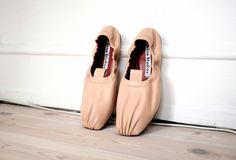 acne studios allegra ballarinas - nouvelle