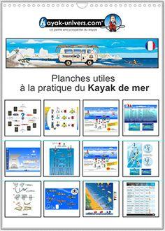 Planches uiles à la pratique du kayak de mer Kayaks, Camping En Kayak, Water Sports, Surfing, Canoeing, Aide, Lifestyle, Board, Sea Kayak