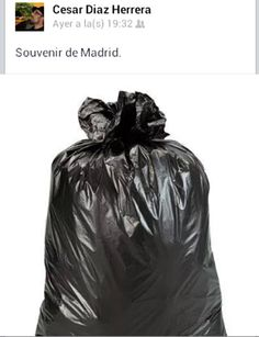 Recuerdo de Madrid.