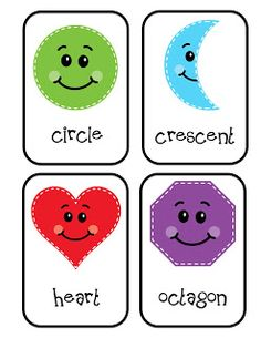Preschool Printables: Shapes for Bulletin Boards Printable