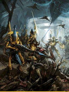 warhammer 40k artwork eldar - Google Search