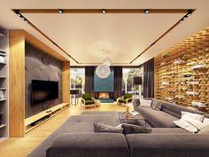 I Don't Mind The Mint interior design project ZARYSY on Behance.