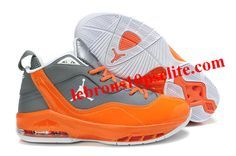 Carmelo Anthony Shoes - Jordan Melo M8 Gray Orange Kobe Shoes e9d8c63586e