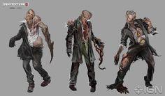 Infected Apocalypse World, Apocalypse Art, Apocalypse Survival, Zombie Monster, Horror Pictures, Zombie Art, Animal Tattoos, Creature Design, Cool Art