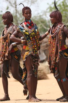 Photo about People of Africa, portraits of African Tribal Ethnic Groups. Image of culture, camera, characteristic - 5546780 Tribal African, Tribal Women, Tribal People, African Women, African Art, Tribes Of The World, People Of The World, African Culture, African History