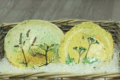 Купить Тарелки керамические Воспоминание о лете - желтый, зеленый, желто-зеленый, зелено-желтый, травы