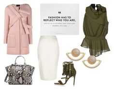 """""""❤"""" by gurlwithradcurls on Polyvore featuring No-Nà, River Island, Simone Rocha, Fendi, T+C by Theodora & Callum, women's clothing, women, female, woman and misses"""