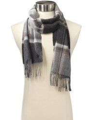 French Connection Men's Motive Check Scarf