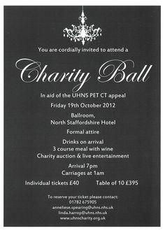 charity ball themes | Charity Ball