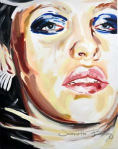 Large portfolio view of Jeanette Bailey - Painting from United Kingdom