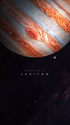 Customize your iPhone 6 Plus with this high definition Jupiter wallpaper from HD Phone Wallpapers! Jupiter Wallpaper, Planets Wallpaper, Wallpaper Space, Galaxy Wallpaper, Colorful Wallpaper, Space Planets, Space And Astronomy, Galaxy Space, Galaxy Art