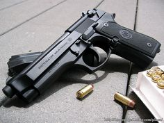 Armas Beretta Pistol  Papel de Parede