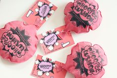 Funny and cute whoopee cushion valentines! Perfect for children for Valentine's Day with a free printable.